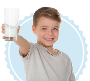 Kid with Milk