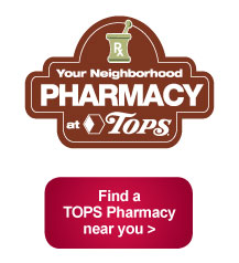 Find a Tops Pharmacy near you