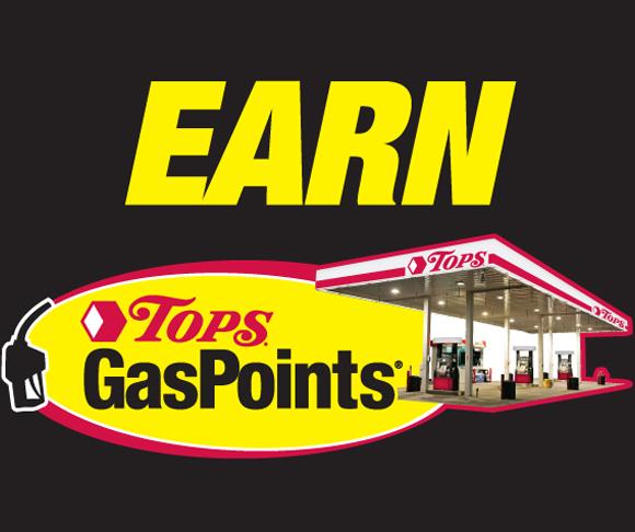 Earn Tops GasPoints