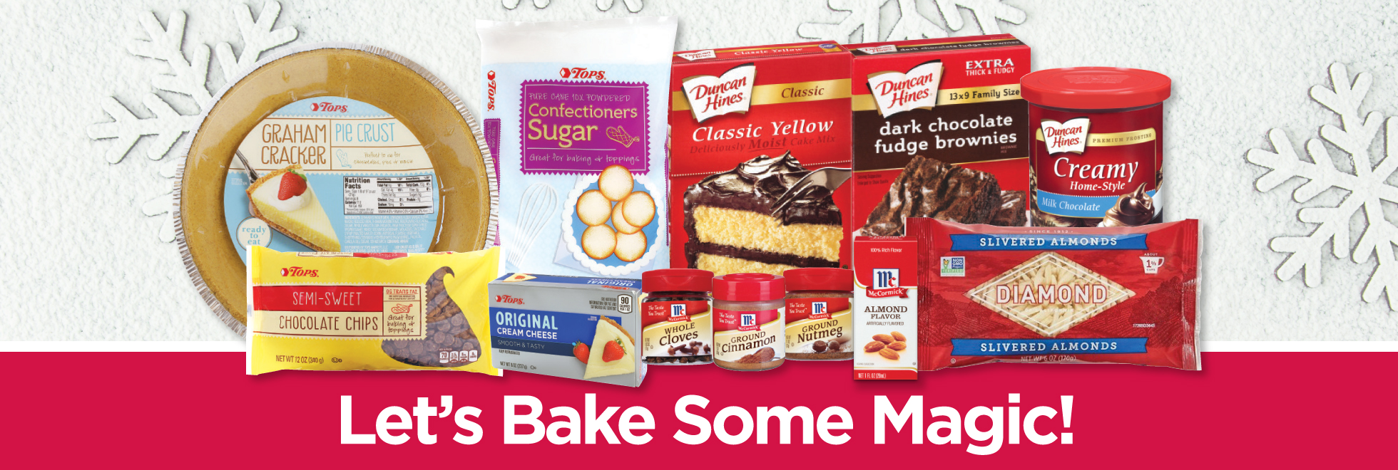 Holiday Baking Savings on Essentials