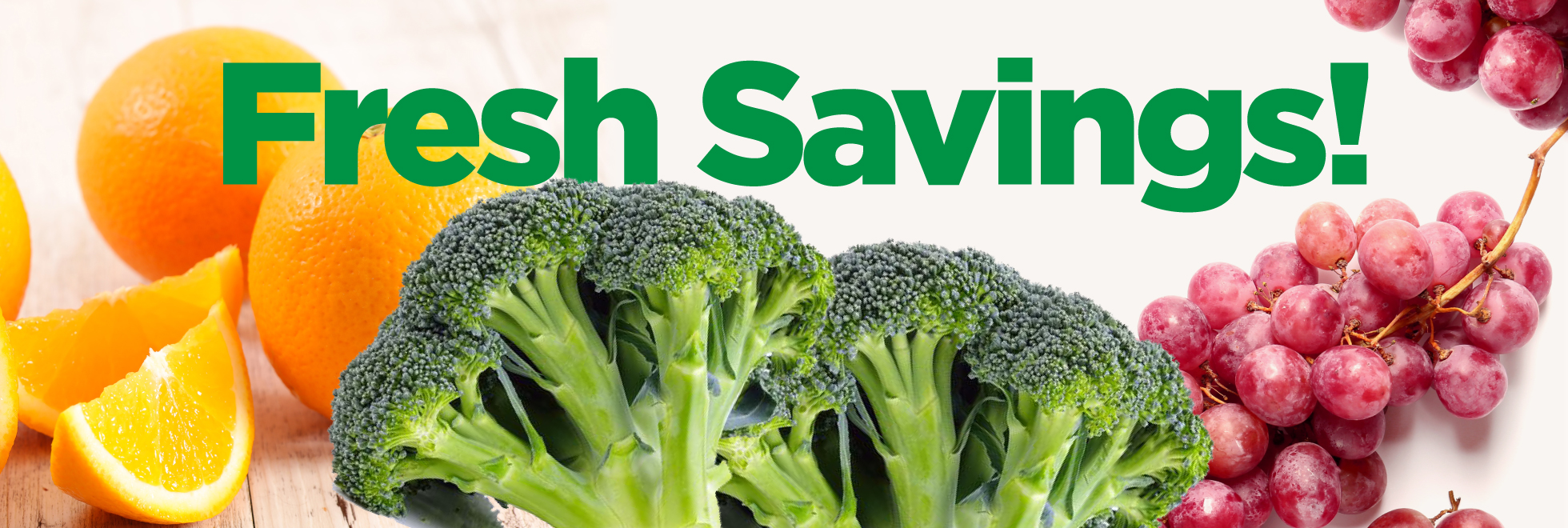 Fresh Produce Savings