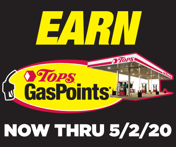 Earn Tops GasPoints through May 2