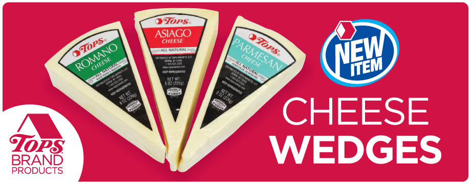TOPS Brand Cheese Wedges