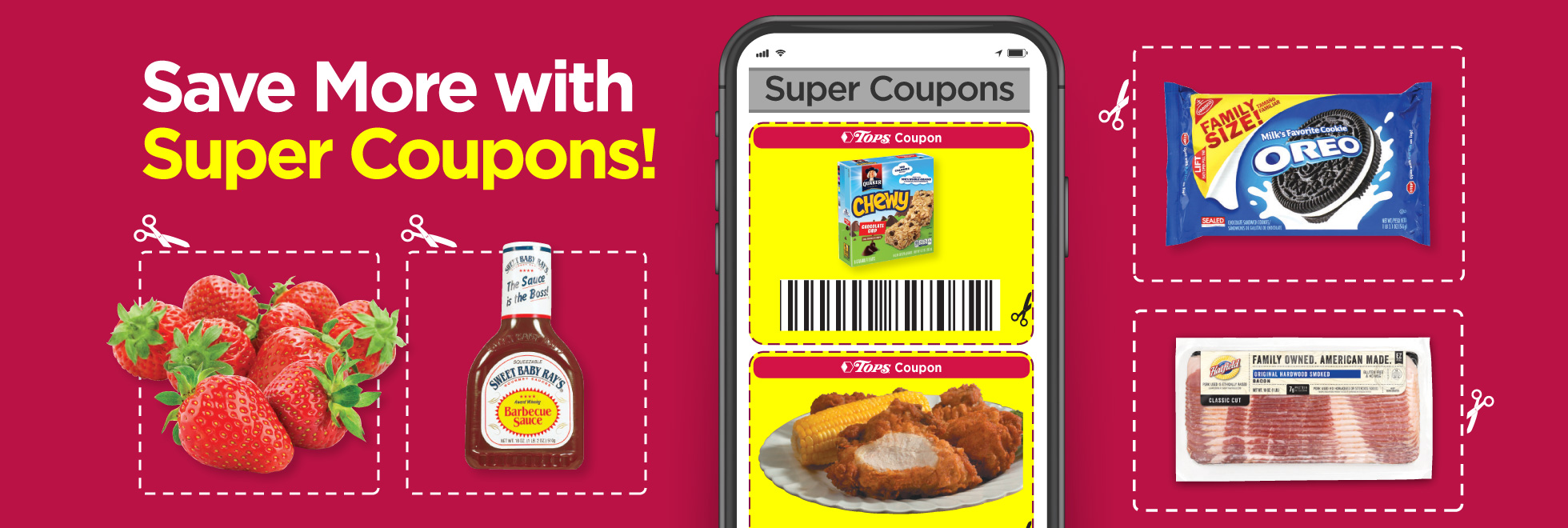 Tops Super 			Coupon Savings