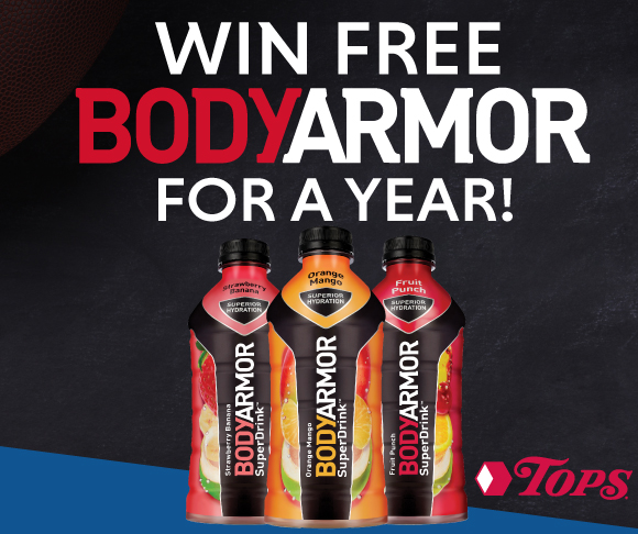 Body Armor NFL Promotion