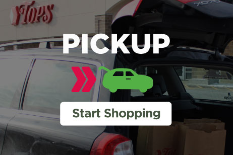 Tops Instacart Pickup Start Shopping