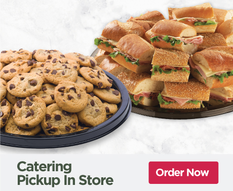 Tops Catering Pickup in Store Online Ordering