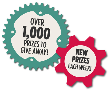 new prizes each week