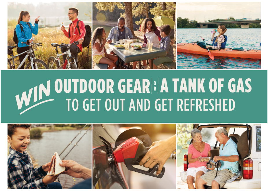 Win Outdoor Gear or a Tank of Gas