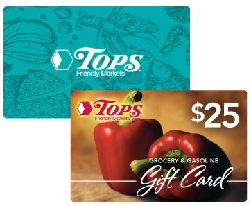 Tops Gift Cards Image