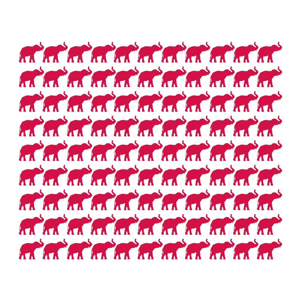 Elephants Tile