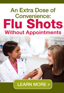Flu Shots without appointments - Learn More