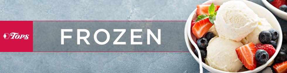 Frozen Foods header