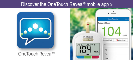 Discover the OneTouch Reveal mobile app