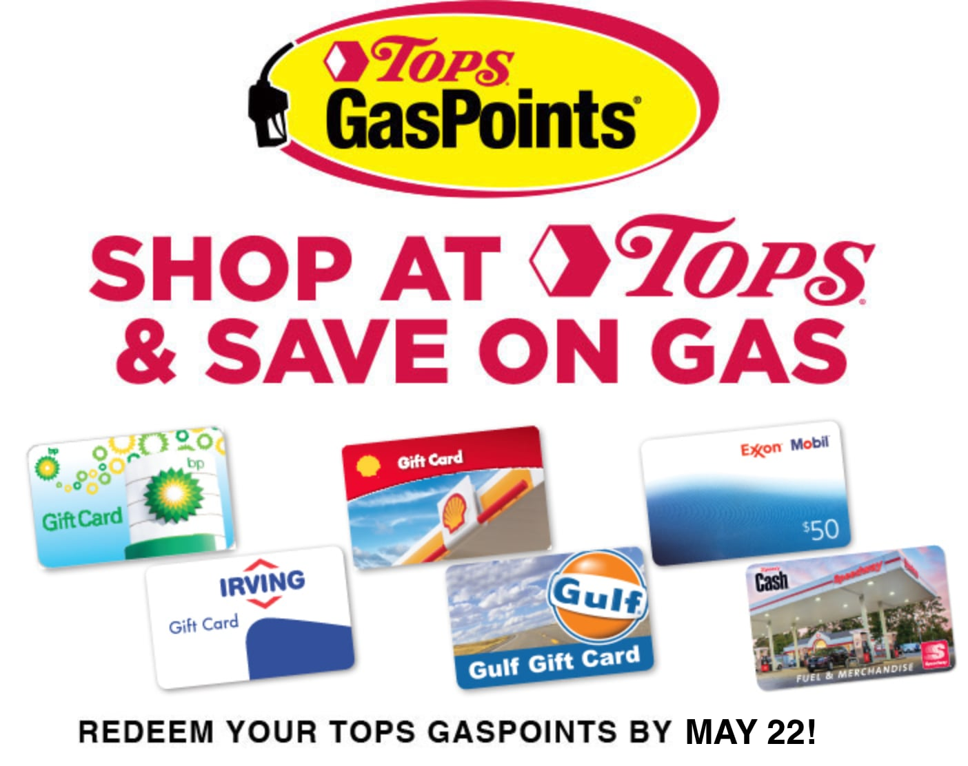 Tops GasPoints