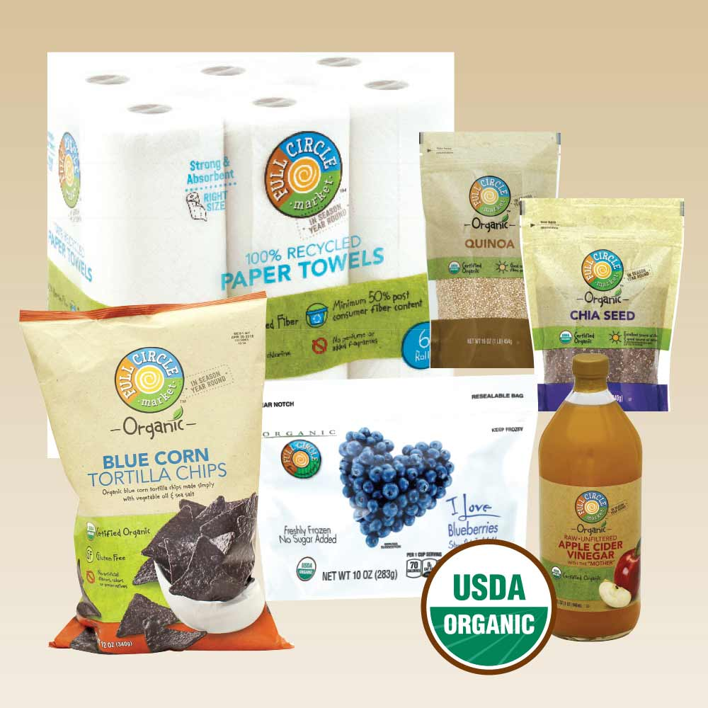 Organic Product Display